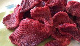 فروش ویژه توت فرنگی خشک آغاز شد.